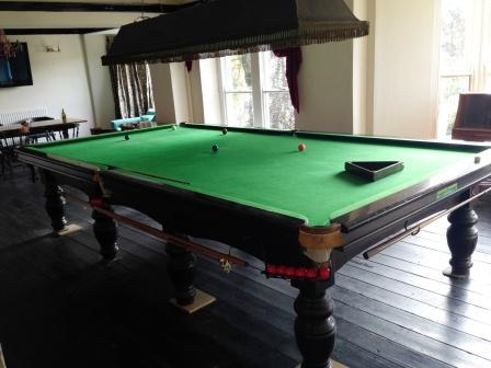 Snooker table service wales, pool tables service uk, french covers, french covers uk,