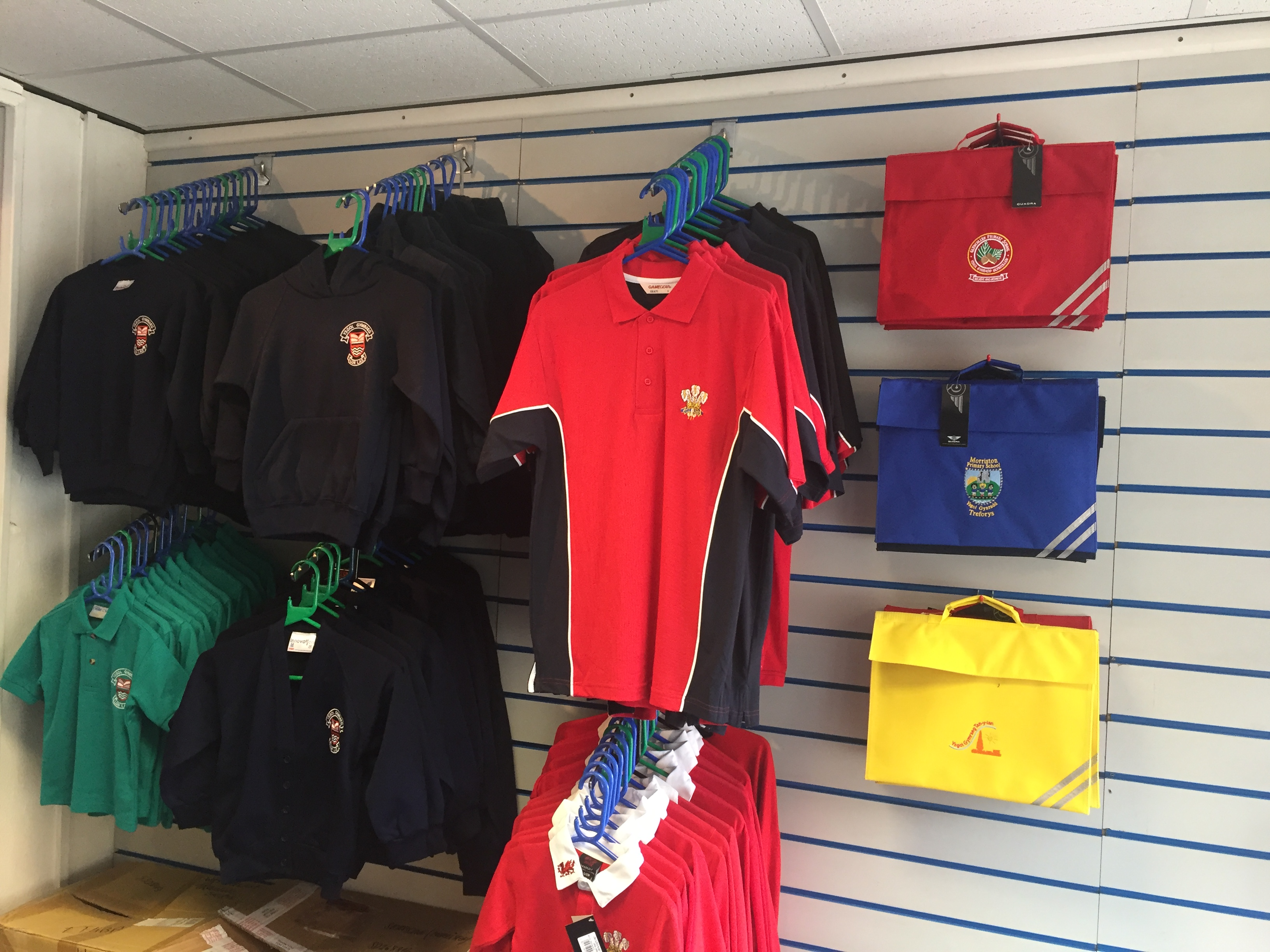 Sportscene, school wear supplier, Morriston, Swansea