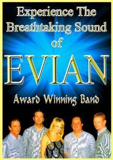 EVIAN, Faredeal entertainments agency Port Talbot, Swansea