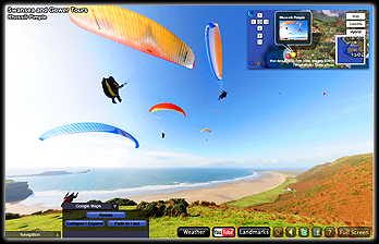 Virtual Tours Swansea, Air tours Swansea, VR Vistas,