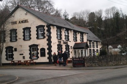 The Angel Inn and Restaurant, Pont Nedd Fechan, Glynneath,Neath