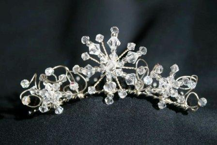 Crystal Hair combs Swansea, Wedding Tiaras Swansea, Emma Arnold,