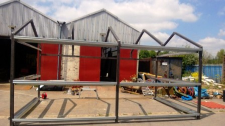 Bespoke steel buildings Wales,steel garages Swansea, Steel buildings UK,