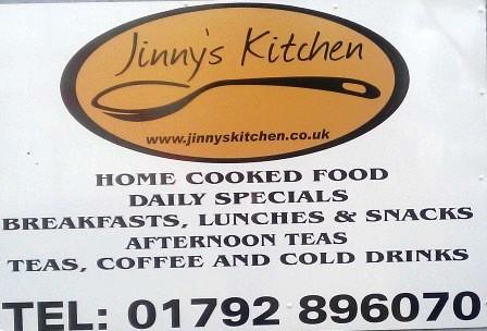 Jinny's cafe, Gorseinon, Swansea