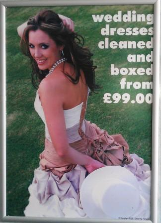 Wedding dresses dry cleaned Swansea, Morriston, Tycoch,