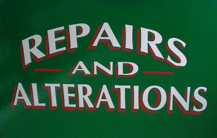 Garment repairs and alterations Swansea, Morriston, Tycoch,