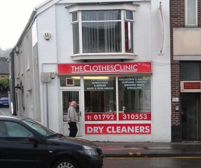 Dry Cleaners Morriston, Swansea,