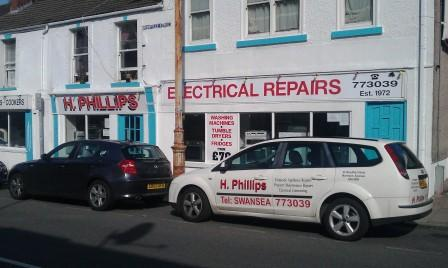 Phillips Electrical Supply and repair Swansea,