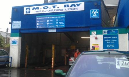 Exhausts Clydach Swansea, Taylors MOT and Service Centre Swansea,