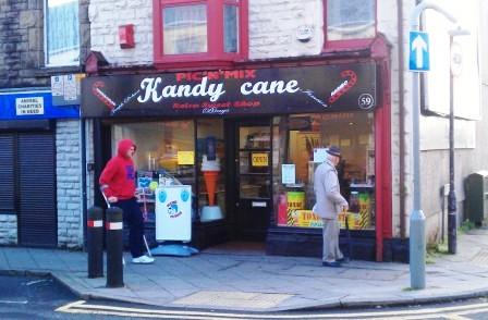 Kandy Cane Sweet Shop Swansea, Gorseinon, Sweets Swansea,