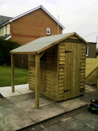 Sheds Built Swansea
