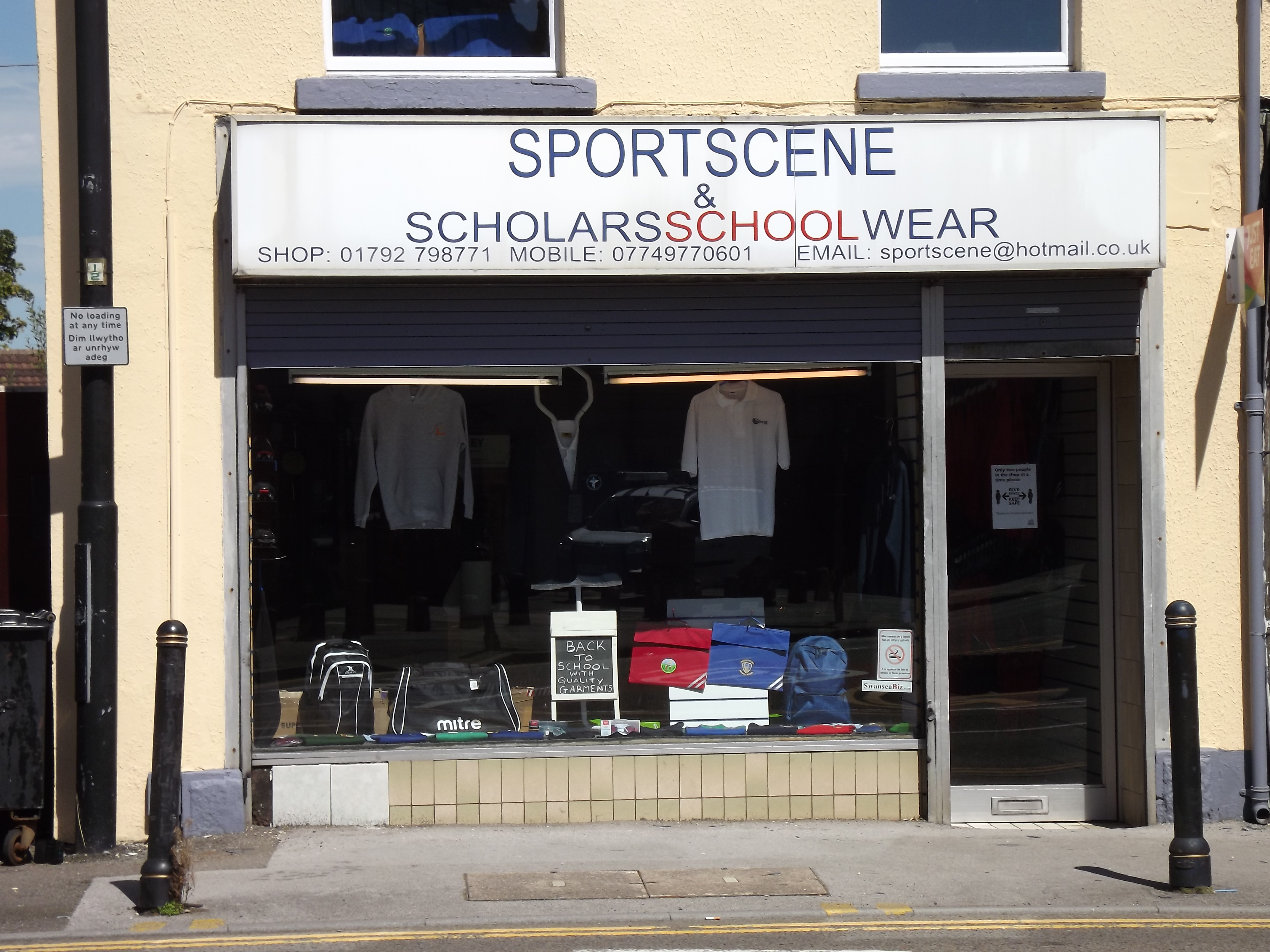 Sportscene, sports shop morriston, Swansea