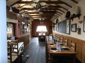 Bar area at The Riverside Inn, Restaurant, Gorseinon, Swansea