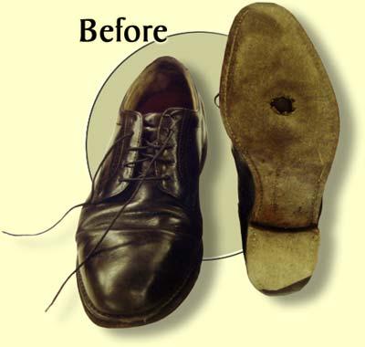 shoe repairs mumbles, leather soles mumbles, cobblers swansea,