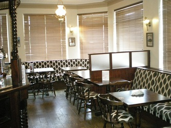 Dining area at The Riverside Inn, Restaurant, Gorseinon, Swansea