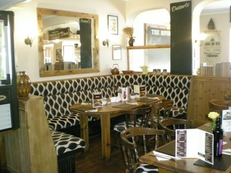 Dining Area at The Riverside Inn,Restaurant, Gorseinon, Swansea