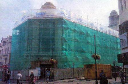 sts scaffolding, ammanford